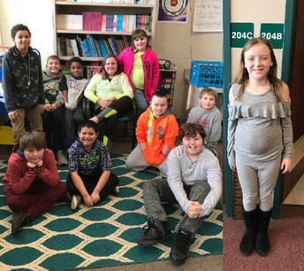 Mrs. Chouinard's class