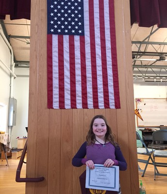 February's 4th grade Citizen of the Month