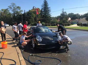DECA Car Wash Raises Over $500 for Charity