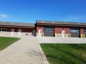 Not a fire station!  A maintenance building.