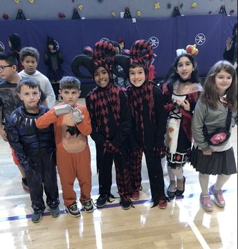 Halloween Parade - 4th Graders!