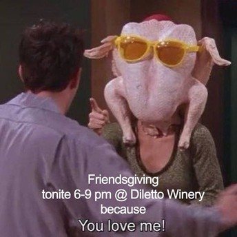 #Friendsgiving Instructions
