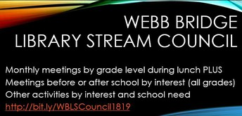 WBMS Library STREAM Council