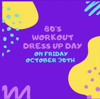 80's Workout Dress Up Day