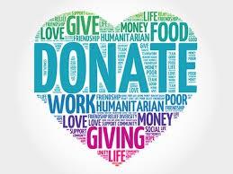 Nuevas necesidades de donación para esta semana.