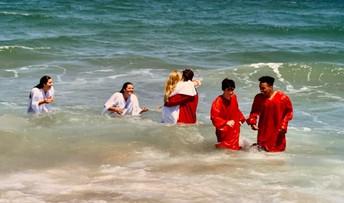The First Swim as High School Graduates
