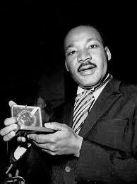 Martin Luther King, Jr. wins Nobel Peace Prize