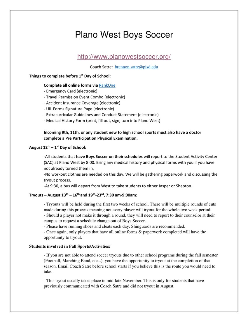 Back To School Information | Smore Newsletters