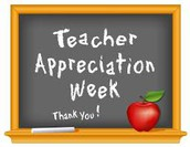 Teacher Appreciation Week May 1-5