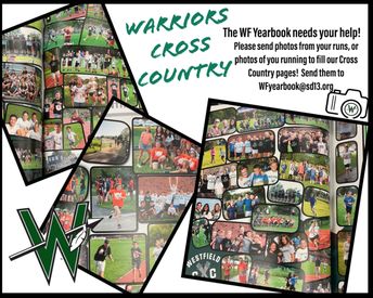 Parents & Students: Email Your Cross Country Snapshots