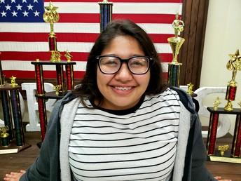 Jessica Vasquez, 12th Grade