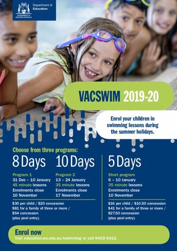 VacSwim 2019-20