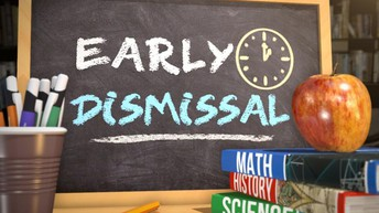 Early Dismissal this week 3/4 - 3/6
