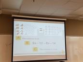 Mrs. Holbrook's Math Class