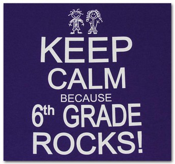A Message from Your 6th Grade Teachers!