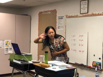 Mrs. Koch Listening for Responses
