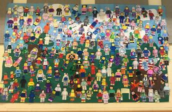 MHS Lego Mural
