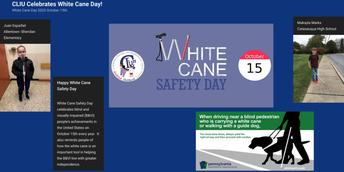 White Cane Safety Day