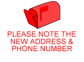 PHONE OR HOME ADDRESS CHANGES