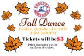 Friday, October 13 - Fall Dance