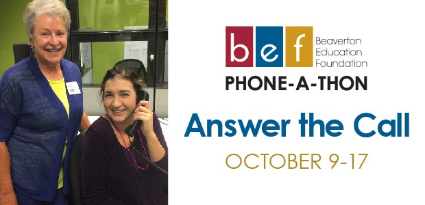 BEF Phone-a-Thon graphic
