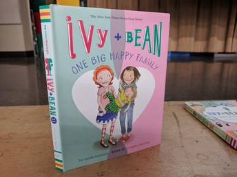 Ivy and Bean author came to visit