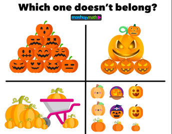 Which One Doesn't Belong Halloween