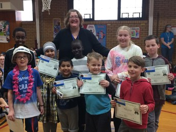 MyOn Reading Winners