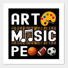 Be Expressive - Art, Music, and PE
