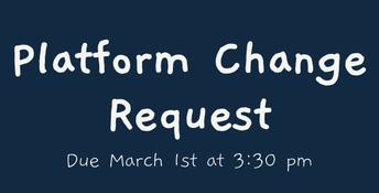 Platform Change Request