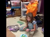 Volcanic eruptions model!