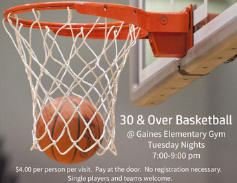 30 & Over Basketball - Year Round