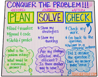 Plan - Solve - Check