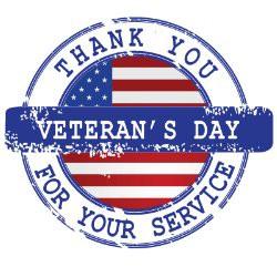Veterans Day November 11th - No School - Dia de los Veteranos noviembre 11 -Asueto