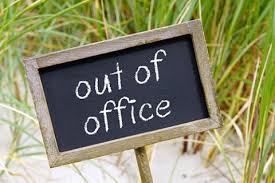 Streelman: Out of Office