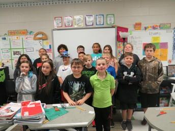 Mrs. Veselak's Class - 10 Days Perfect Attendance