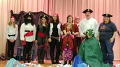 Staff pirate play for Literacy Night!
