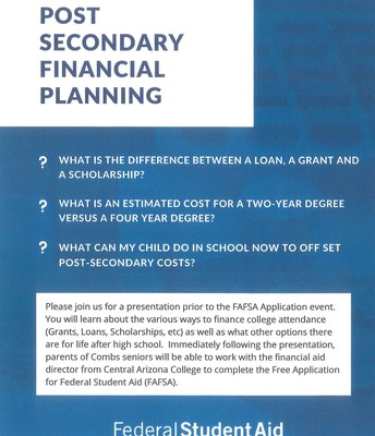 Post Secondary Financial Planning