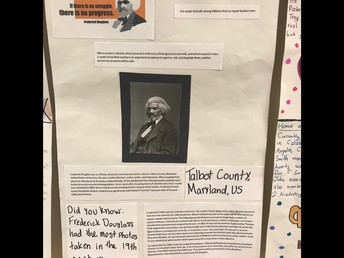 Fifth Grade Students Study Famous African Americans