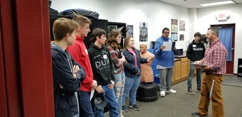 WHS students learn about Criminal Justice/Public Safety