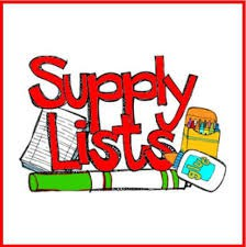 Supply Lists and Fee Information