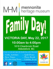 Join us for Family Fun on Victoria Day!