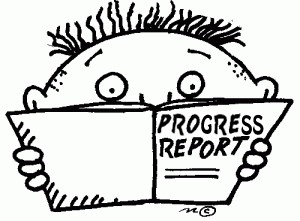 6 Week Progress Reports Emailed Friday, October 2, 2020