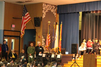 Assembly Honoring Local Veterans