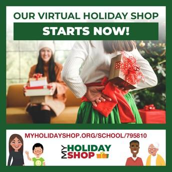 VIRTUAL CHRISTMAS SHOPPING