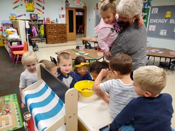 K3 students grew water beads