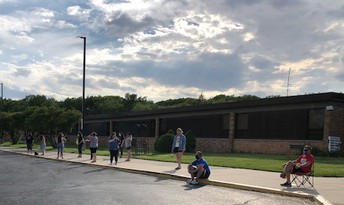 Picture from 5th grade Parade