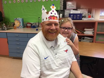 1st Grade Breakfast with Dad was a HIT!