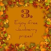 Enjoy free Jamberry prizes