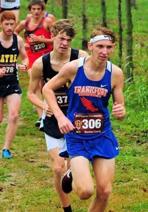 Cross Country Boys finish 20th in the State